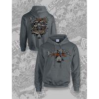 bass militia skull hoodie