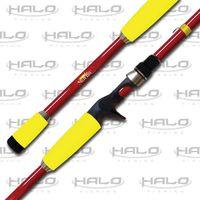 halo fishing starlite series casting rod