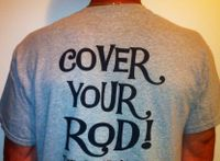 trc covers rod cover cotton t-shirt