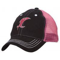 vicious fishing pink and black cap