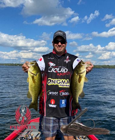 enigma rods and phenix baits jigs
