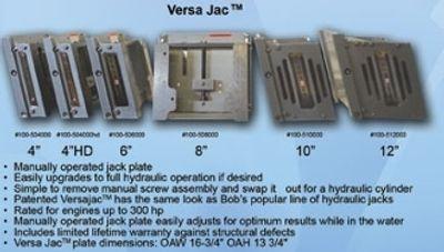 bobs machine shop heavy duty setback versa series jack plate