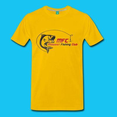 midwest fishing club mens mfc premium logo heavy hoodie