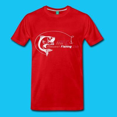 midwest fishing club mens mfc premium logo shirt