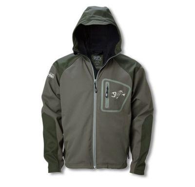 g loomis softshell hooded jacket